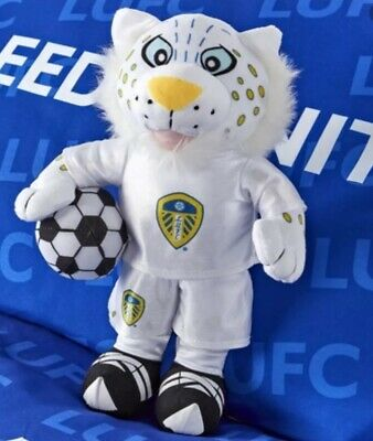 "Leeds United FC Official Large Kop Cat Teddy 17"" Approx"