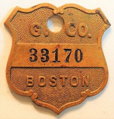 Gilchrist  Co.  Boston, Ma.    Charge Coin  Tyl Ma-115-Gila