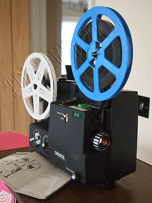 CINEREX 818 DUAL SUPER 8  8mm CINE MOVIE FILM PROJECTOR