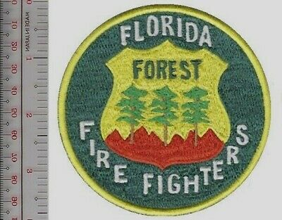 Hot Shot Wildland Fire Crew US Forest Service White on Green md Patch