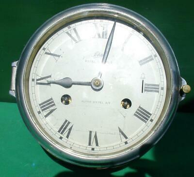 Schatz Royal Mariner Diesel As Vintage German 8 Day Ships Bell Clock
