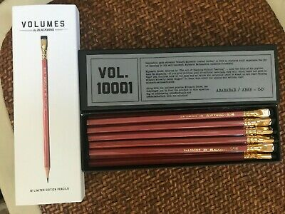 Palomino Blackwing Pencils Volumes 10001 - Mint In Box - 12 Pencils - Limited