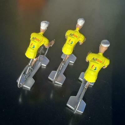3 cyclistes miniatures Tour de france - Cycling figure - Wallonie Bruxelles