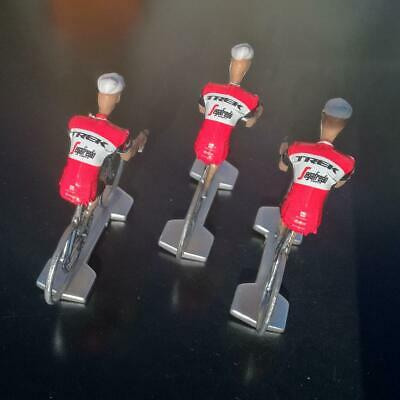 3 cyclistes miniatures Tour de france - Cycling figure - Trek Segafredo 2019