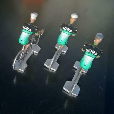 3 cyclistes miniatures Tour de france - Cycling figure - Bora Hansgrohe 2019