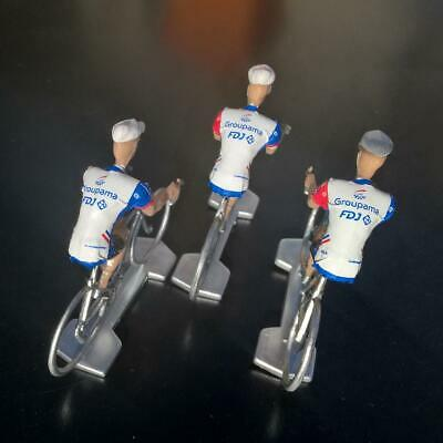 3 cyclistes miniatures Tour de france - Cycling figure - FDJ 2019