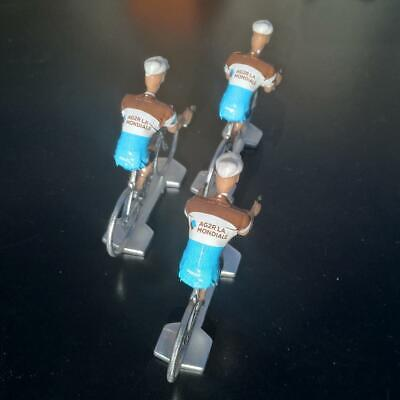 3 cyclistes miniatures Tour de france - Cycling figure - AG2R LA Mondiale 2019