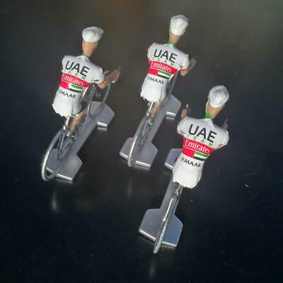 3 cyclistes miniatures Tour de france - Cycling figure - UAE Emirates 2019