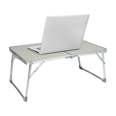 Milliard Aluminum Laptop Foldable Table, Breakfast in Bed Tray, Standing Desk