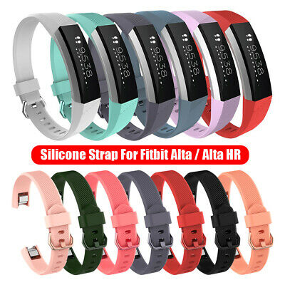 Soft Wristbands for Fitbit Alta / Alta HR Strap Bracelet Silicone Watch Band