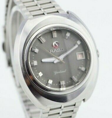G987 Vintage Rado Garland Automatic Swiss Made Watch Cal.2873 4.1