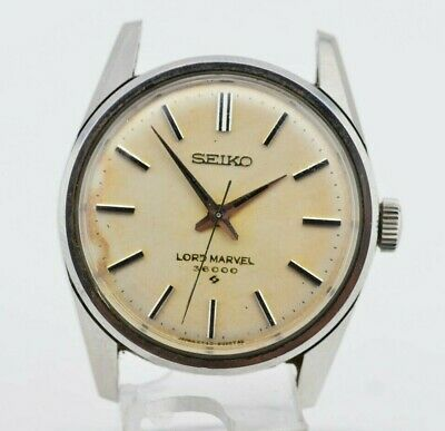 H285 Vintage Seiko Lord Marvel Hi-Beat 36000 Mechanical Watch 5740-8000 JDM 8.3