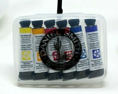 New Daniel Smith Extra Fine Watercolor Set ~ 6 5ml Tubes