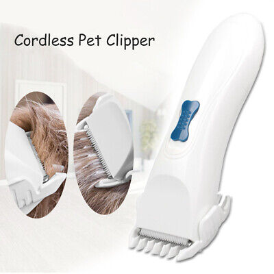 Pet Professional Grooming Clippers Kit Set For Dog Cat Hair Trimmer Groomer M4L1