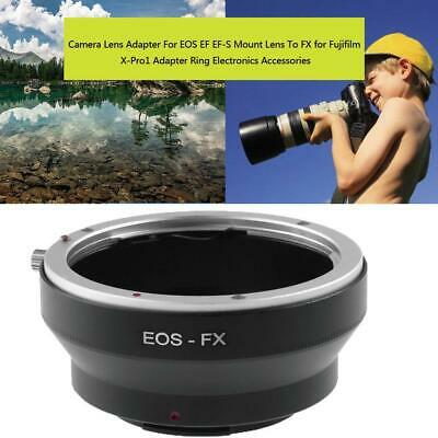 Lens Adapter For Canon EOS EF EF-S Mount Lens To FX for Fujifilm X-Pro1