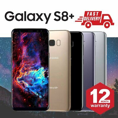 Samsung Galaxy S8 Plus 64GB Unlocked Android Mobile Phone Various Colours