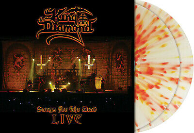 King Diamond-Songs For The Dead Live, Clear/Red & Yellow Splattered 2Lp, 103/300