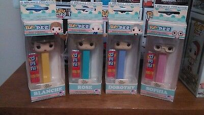 Funko Pop! Pez: Golden Girls, Rose, Sophia, Blanche, and Dorothy! Limited!