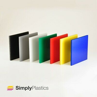PALIGHT® Coloured PVC Foam Board Foamex sheets / Sizes A4 & A3