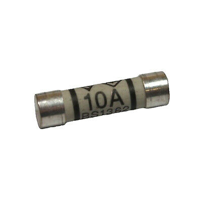 10A Domestic Fuses 10Amp Plug Top Household Mains Cartridge Fuse