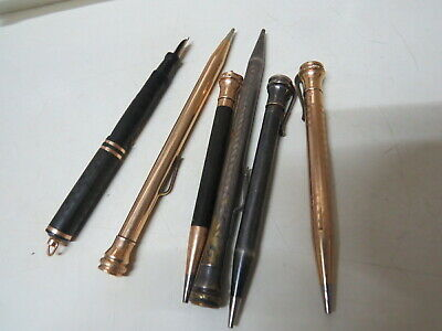 Wahl Eversharp Pencil  fountain pen Silver Plate gold filled