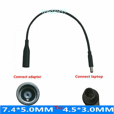 For Dell DC Power Charger Converter Adapter Cable 7.4mm 5.0mm To 4.5mm 3.0mm