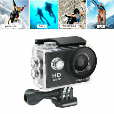 """2"""" Sports Camera HD 1080P wifi Waterproof for GoPro Video Camcorder 12MP 2019"""