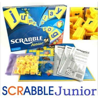 Junior Scrabble Board Game Funny Family Party Game Scrabble Junior Version Gift