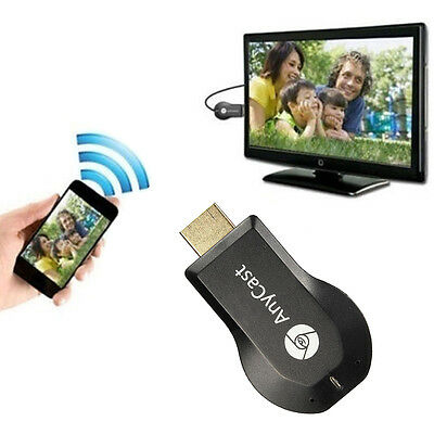 HDMI WIFI sans fil TV Dongle récepteurs HD 1080p DLNA Airplay Chromecast TV