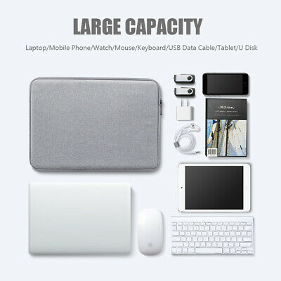 Shockproof Notebook Case Sleeve Laptop Bag For MacBook HP Dell Lenovo 15inch