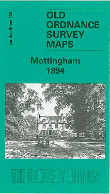 Old Ordnance Survey Maps Mottingham 1894