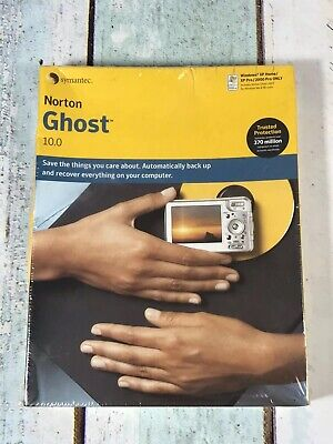 Norton Internet Ghost 10.0 Win XP / 2000 With SP4 Retro Software New Sealed