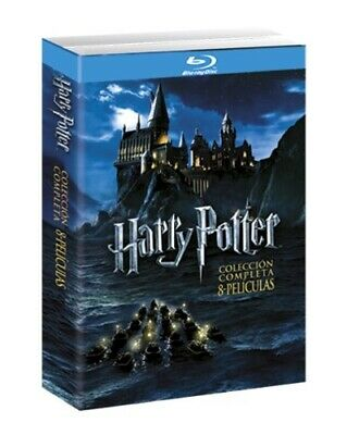Pack Harry Potter La Coleccion Completa BluRay (SP)