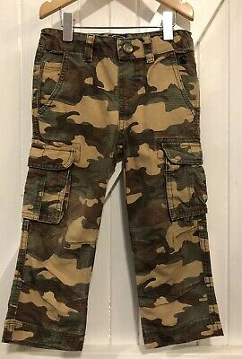 Joules 3 years Trousers Camouflage Detail Pockets & Adjustable Waistline