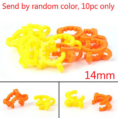 14mm Plastic Keck Clipss for NC clip Random Colors 10PCS USA