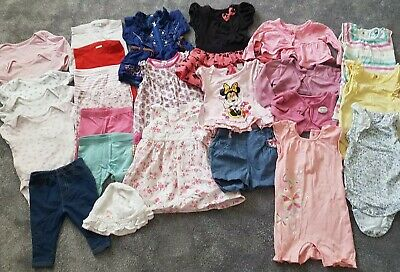 Large Bundle Of Baby Girl 3 to 6 months Outfits Clothes
