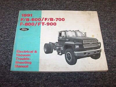ford f600 truck wiring diagrams 1991 ford f600 f700 f800 ft900 truck electrical wiring   vacuum  1991 ford f600 f700 f800 ft900 truck