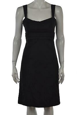 NEW Elie Tahari Dress Size 2 Black Above Knee Sleeveless Casual Above Knee NWT