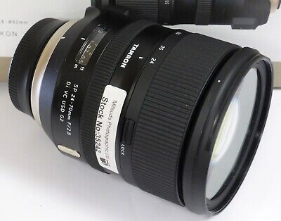 Tamron  24-70mm F/2.8 Di VC USD G2 A032N SP Zoom Lens Nikon AF Boxed - ST35242