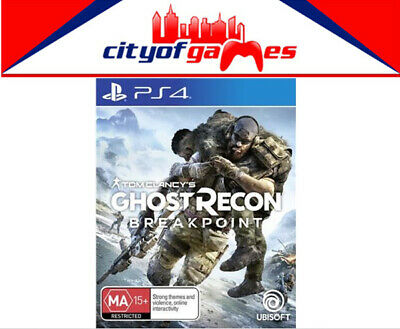 Tom Clancy's Ghost Recon Breakpoint PS4 Game New Black Friday Special Offer