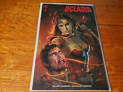 Dceased #2 Shannon Maer Wonder Woman Variant Limited To 3000  Nm
