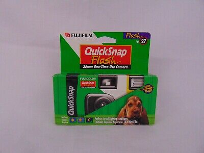 Fujifilm Quicksnap Flash 35 MM 27 Exp. 2001 11 Expired Film