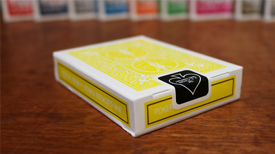 Bicycle Yellow Playing Cards Deck Brand New