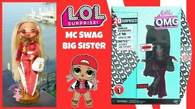 """LOL Surprise Series 1 OMG MC SWAG 10"""" Fashion Doll SHIPS TODAY! NEW!"""