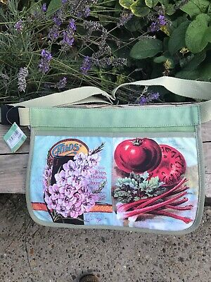 Past Times Seed Packet Tool Apron New With Tags £12.00 Retail Half Price £6.00