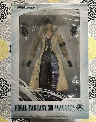 Final Fantasy XIII Square Enix Play Arts Kai Snow Villiers MISB BRAND NEW