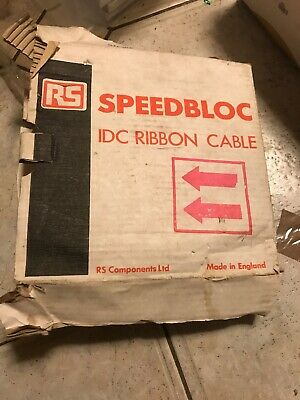 14 Way SPEEDBLOC  Cable 25 metre reel. RS 360 - 100. STD IDC RIBBON CABLE