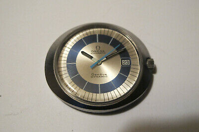 VINTAGE OMEGA AUTOMATIC GENEVE DYNAMIC MENS WRISTWATCH WORKING 1960'S Tool 107