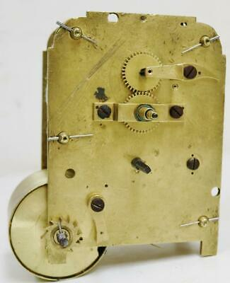Antique English Fusee Bracket/Wall Clock Movement For Spares Or Repair