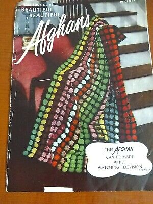 Fleisher/'s Color Afghan Book #15 c.1932 Vintage Crochet Patterns